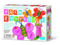 4M: Craft - French Knitting Yarn Butterfly