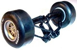 Scalextric Front Axle Assembly & Suspension For A1 GP Slot Car