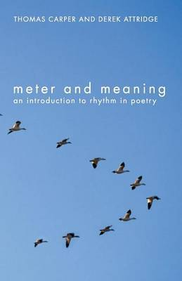 Meter and Meaning by Thomas Carper image