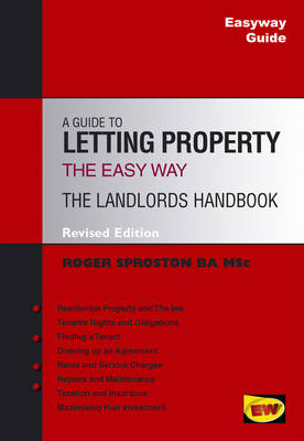 Easyway Guide to Letting Property: The Landlord's Handbook by Roger Sproston image