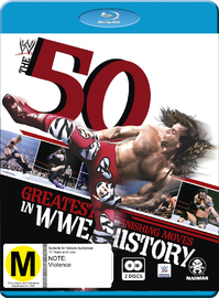 WWE: 50 Greatest Finishing Moves In WWE History on Blu-ray
