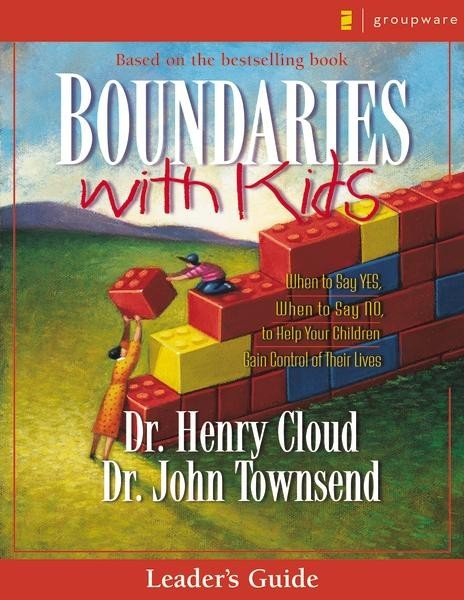 Boundaries with Kids Leader's Guide by Henry Cloud image