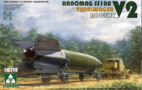 Takom: 1/35 Hanomag SS100 Vidalwagen Rocket (German V-2 Rocket Transporter) - Model Kit