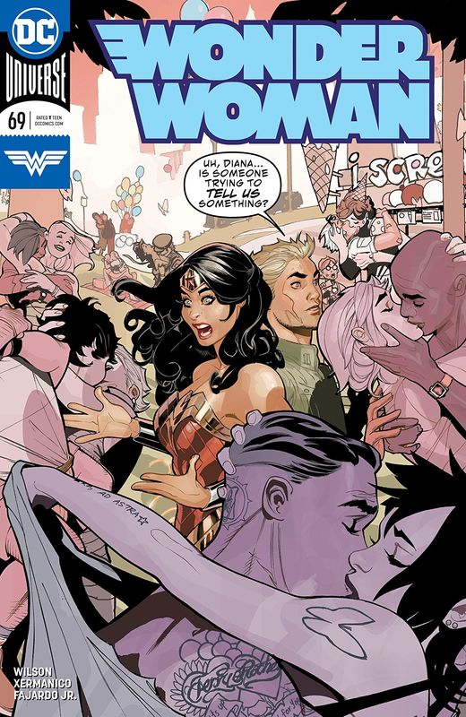 Wonder Woman - #69 (Cover A) by G.Willow Wilson