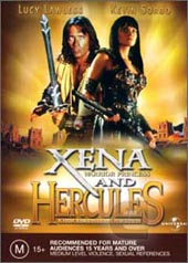 Xena And Hercules (2 Disc Set) on DVD