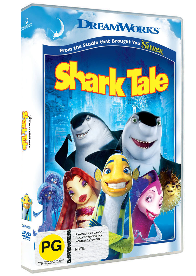 Shark Tale on DVD image