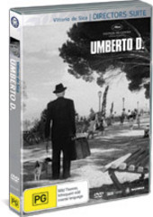 Umberto D on DVD