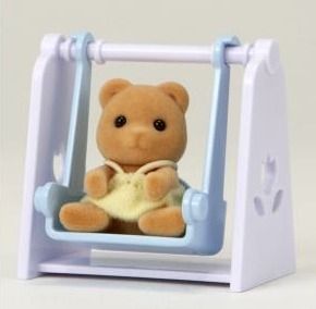Sylvanian Families: Baby Bear with Swing