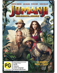 Jumanji: Welcome to the Jungle on DVD image