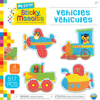 The Orb Factory: My First Sticky Mosaics - Vehicles