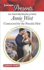 Contracted for the Petrakis Heir by Annie West