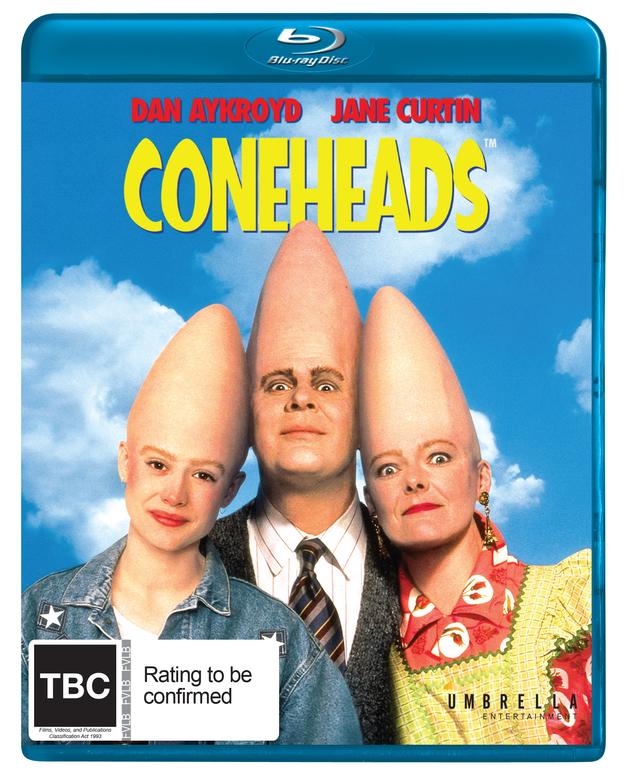 Coneheads on Blu-ray
