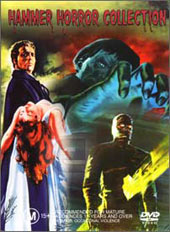 Hammer Horror Collection (1950's) on DVD