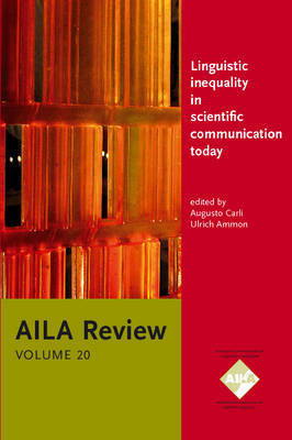 Linguistic inequality in scientific communication today