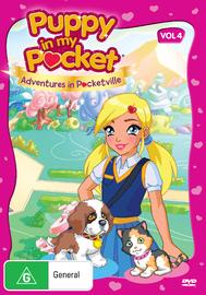 Puppy in My Pocket: Volume 4 on DVD