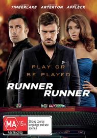 Runner Runner on DVD
