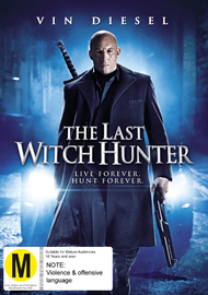 The Last Witch Hunter on DVD