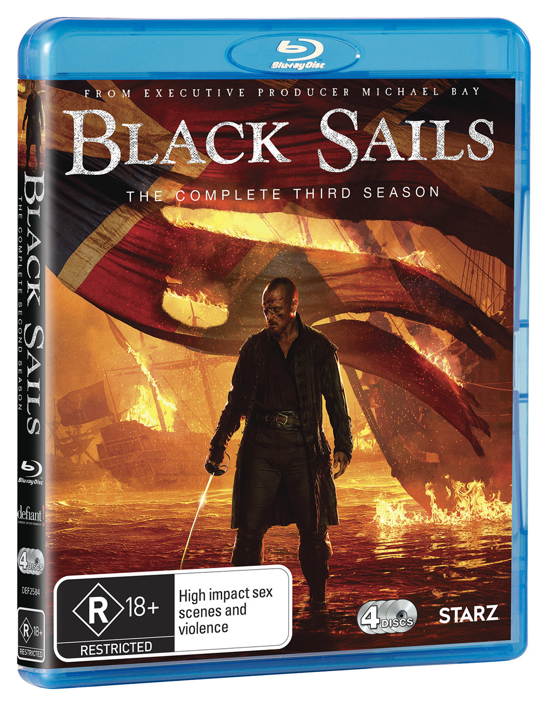 Black Sails - The Complete Third Season on Blu-ray image