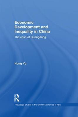 Economic Development and Inequality in China by Hong Yu