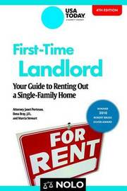 First-Time Landlord by Janet Portman