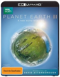Planet Earth II (4K UHD + Blu-ray) DVD