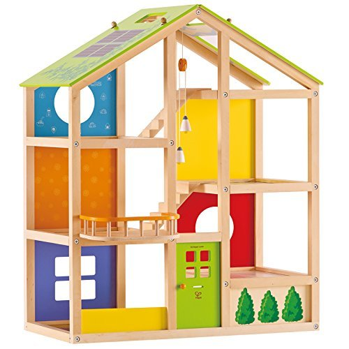 Hape: All Season Dolls House (Unfurnished) image