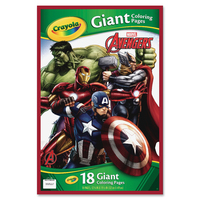 Crayola: Giant Colouring Pages – Avengers