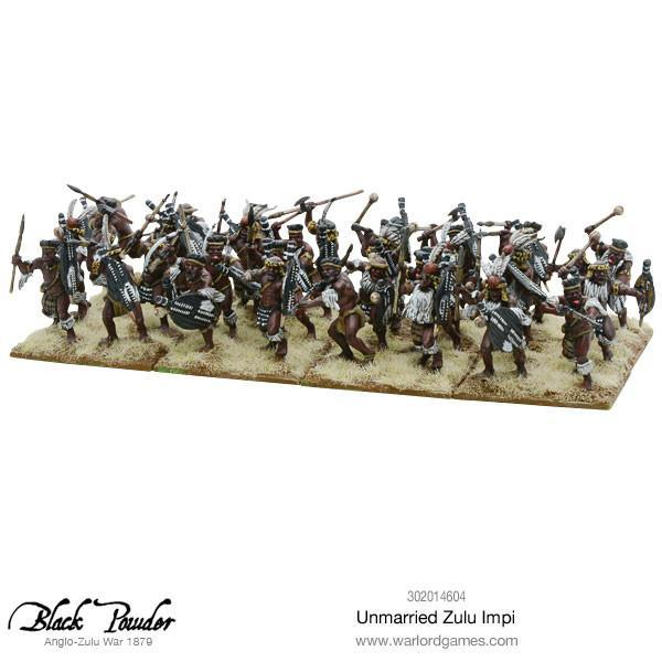 Anglo Zulu War Unmarried Zulu Impi image
