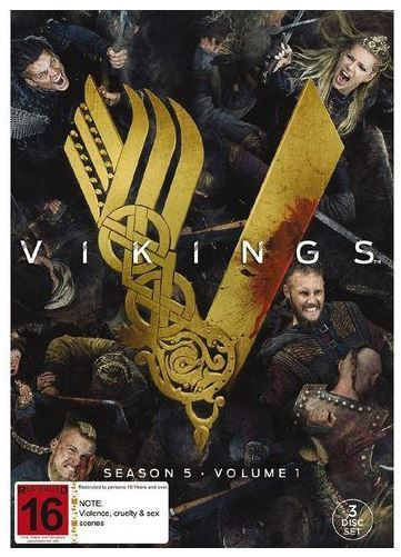Vikings Season 5 Volume 1 Dvd Buy Now At Mighty Ape Nz