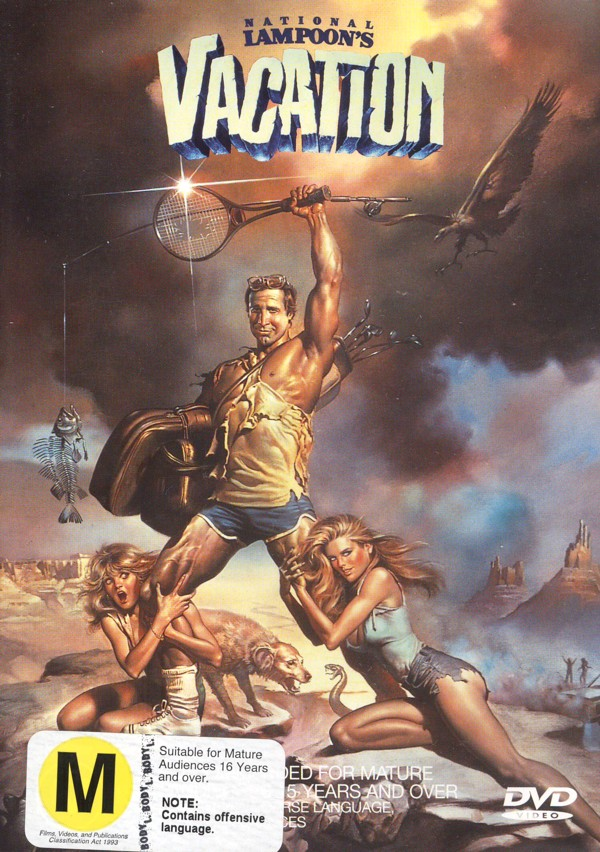 National Lampoon's Vacation on DVD image