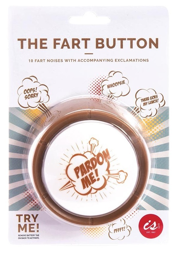 IS Gift: The Fart Buttton - Desk Toy image