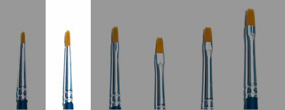 Italeri: Brush Synthetic Flat size 00
