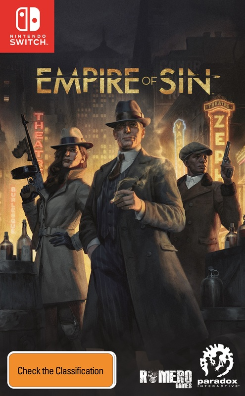 Empire of Sin Day One Edition for Switch