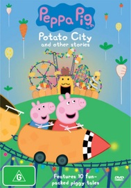 Peppa Pig: Potato City on DVD