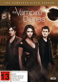 Vampire Diaries - Season 6 on DVD