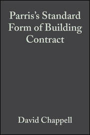 Standard Form of Building Contract by David Chappell image