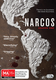 Narcos Season One on DVD