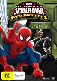 Ultimate Spider-Man: The Spider-Verse on DVD