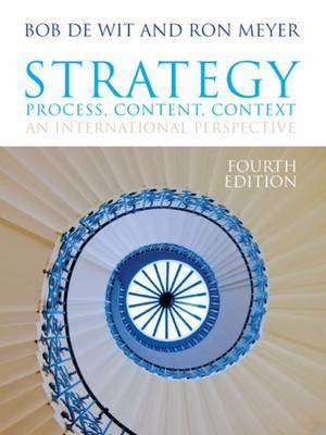 Strategy: Process, Content, Context by Ron Meyer