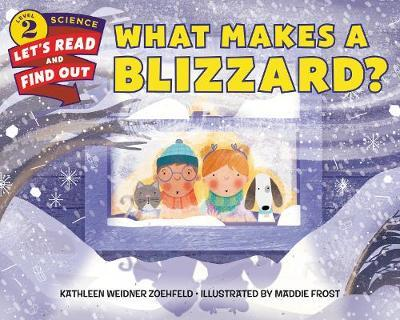 What Makes a Blizzard? by Kathleen Weidner Zoehfeld