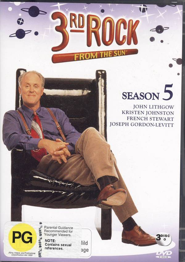 3rd Rock From The Sun Season 5 (3 Disc) on DVD image