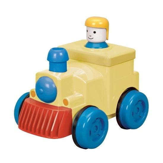 Battat: Pump & Go Train Engine - (Assorted Designs)