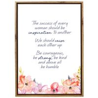 Empowerment Framed Canvas - Raise