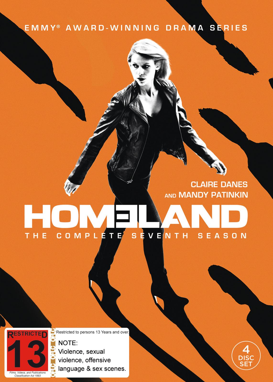 Homeland: Season 7 on DVD image