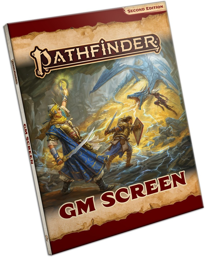 Pathfinder RPG: GM Screen (2nd Edition) image