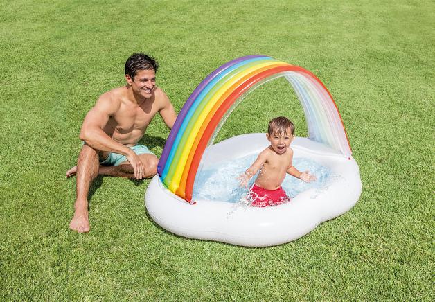 Intex: Rainbow Cloud Baby Pool