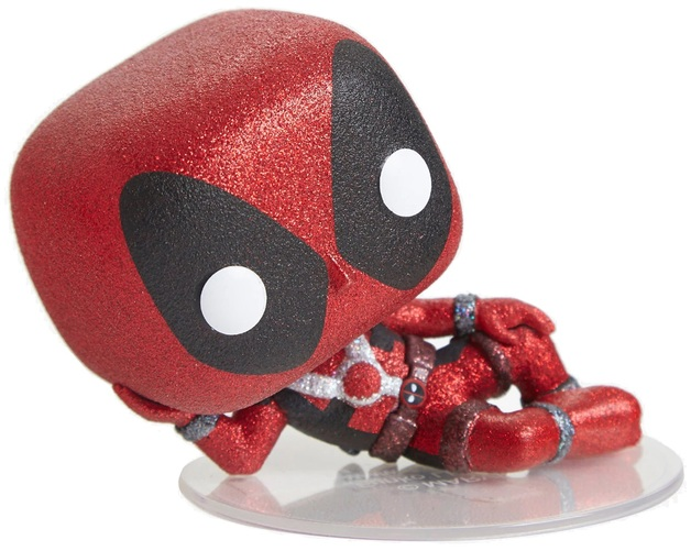 Deadpool - Reclining Deadpool (Diamond Glitter) Pop! Vinyl Figure