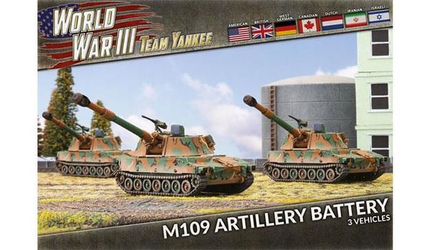 Team Yankee: M109 Field Artillery Battery (x3 Plastic)