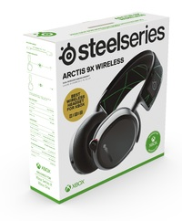 SteelSeries Arctis 9X Wireless Gaming Headset for PC, Xbox Series X, Xbox One
