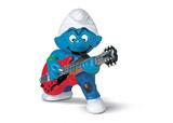The Smurfs - Smurf Lead Guitar Player